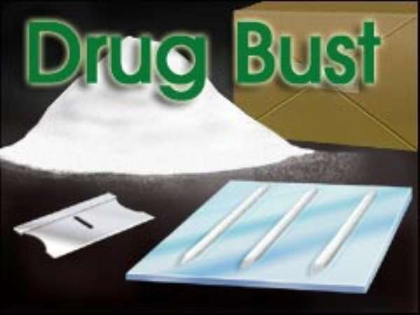 Son of Ghanaian Ambassador Busted With Cocaine